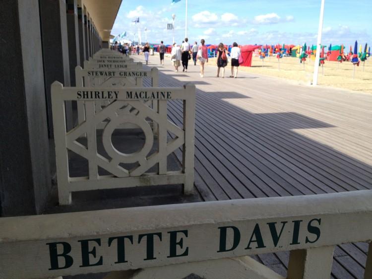 Deauville planches Bette Davis