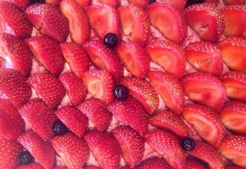 Fauchon gateau fraise