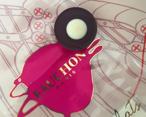 Fauchon lime chocolate