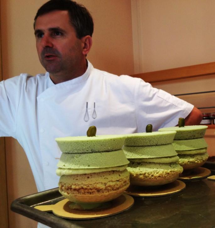 Francois Gayet Deauville macaron pistache