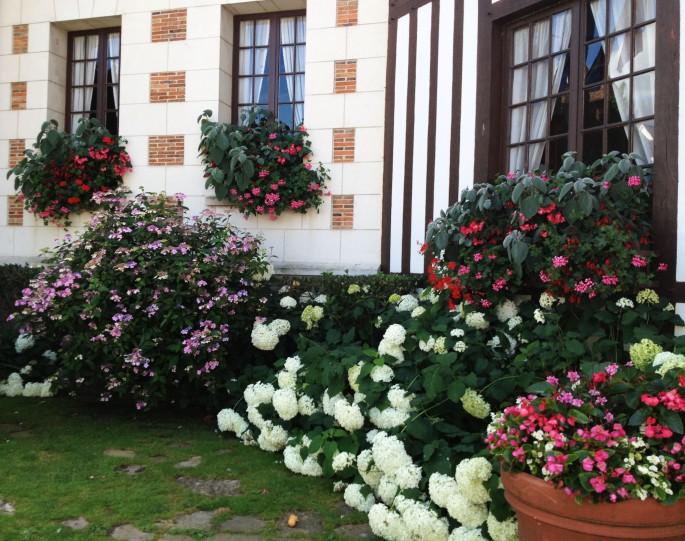 Mairie Deauville fleurs