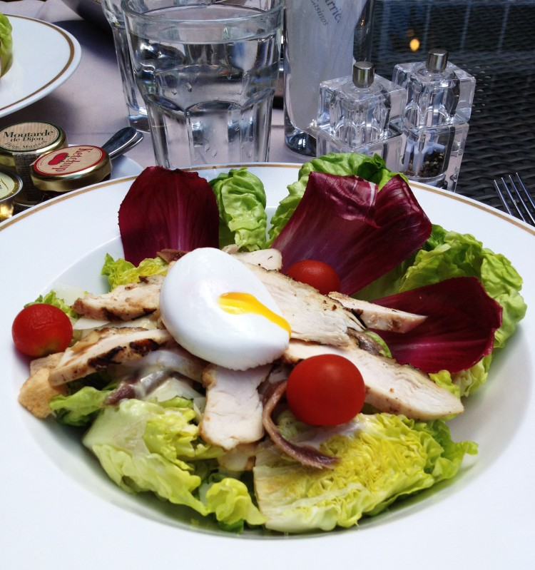 salad Hotel Normandy Deauville
