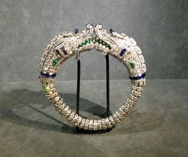 Cartier Grand Palais crocodiles