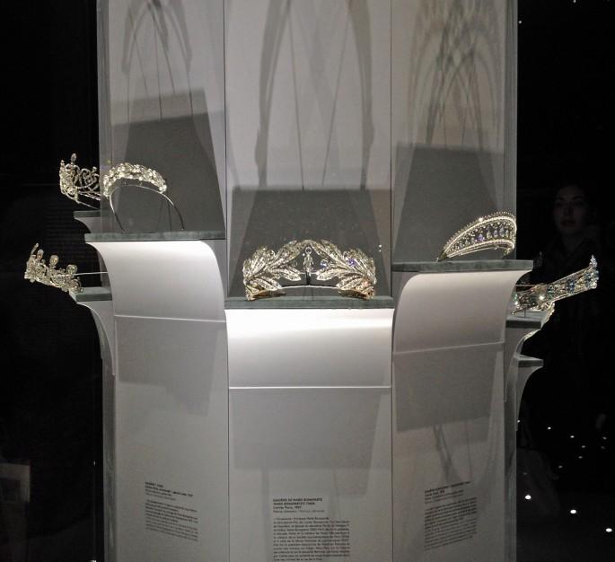 Cartier Grand Palais tiaras