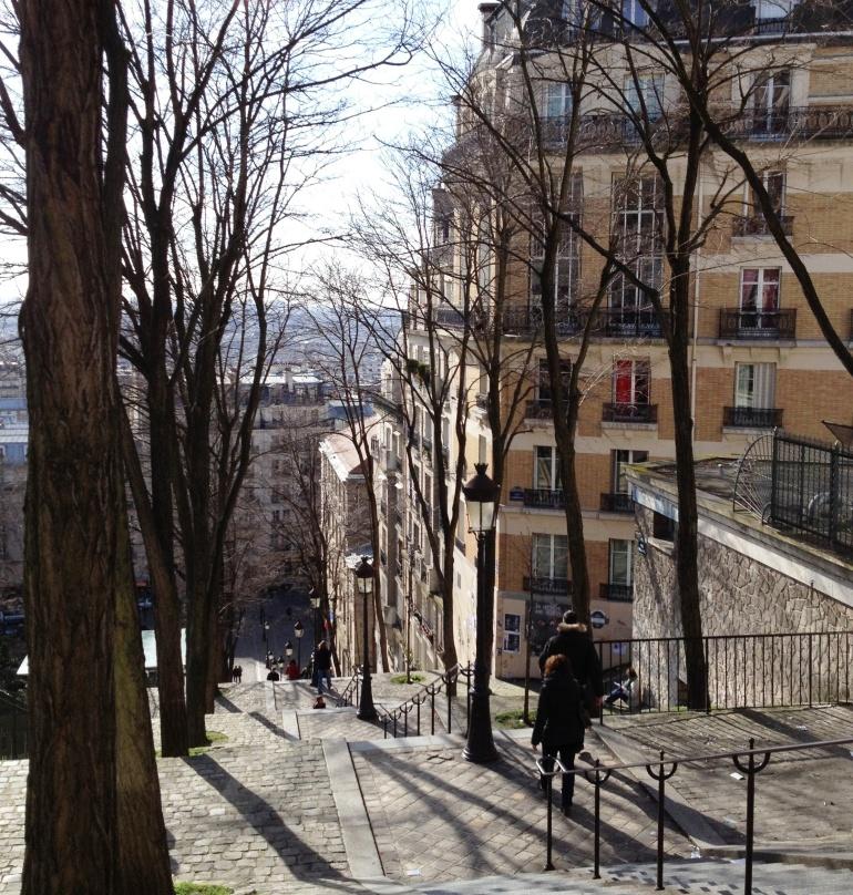 Montmartre rue Foyatier
