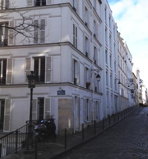 Montmartre rue Gabrielle