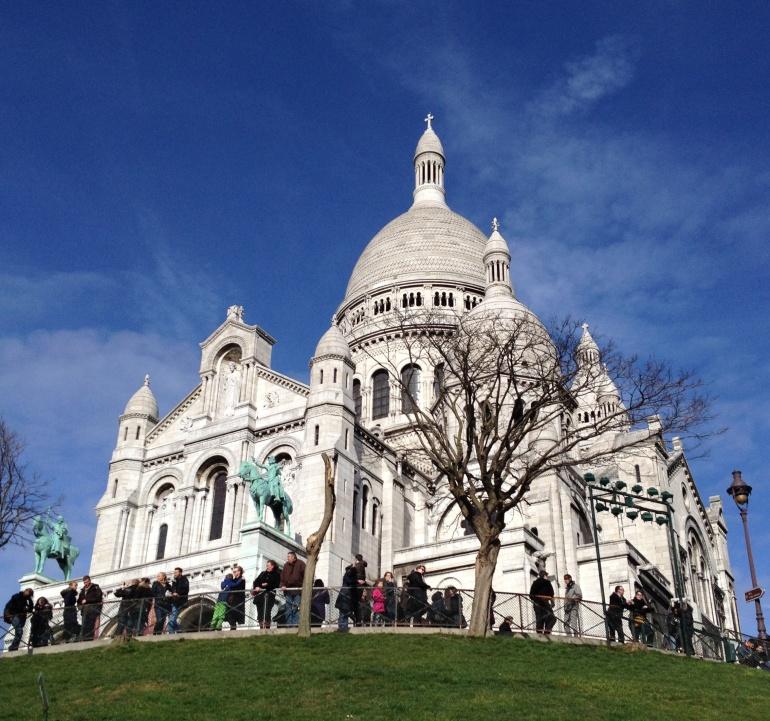 Montmartre Sacré Coeur 2