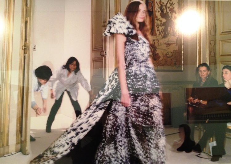 Martin Parr couture dress