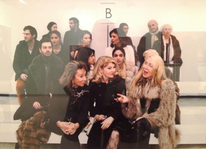 Martin Parr fashion show