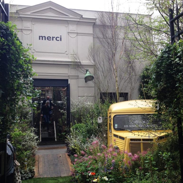 Merci Paris entrance