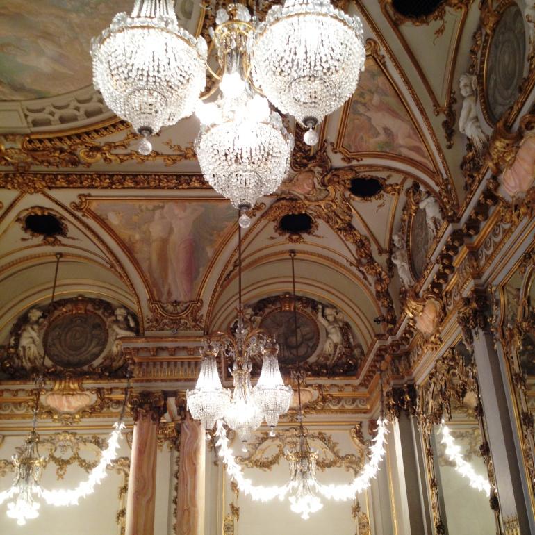 Musée d'Orsay Salle des fêtes détail
