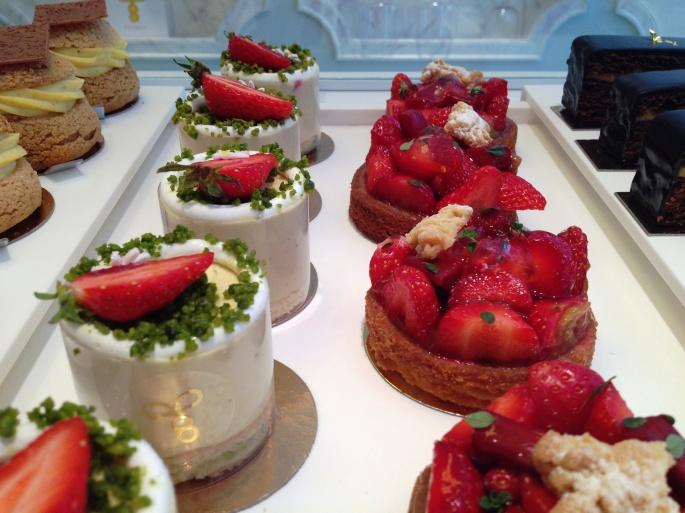 Gateaux Thoumieux fraises