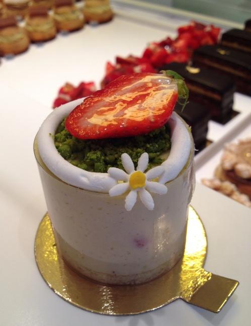 Gateaux Thoumieux fraisier