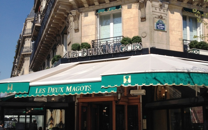 Deux Magots Saint Germain