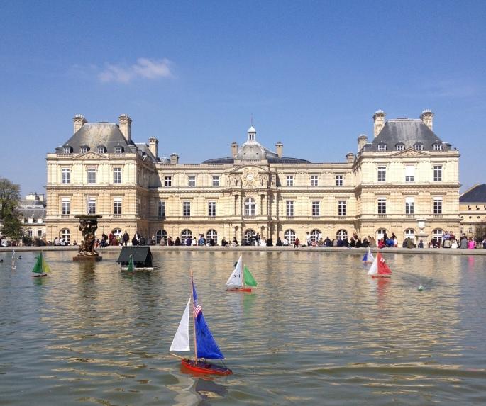 Jardin du Luxembourg boat