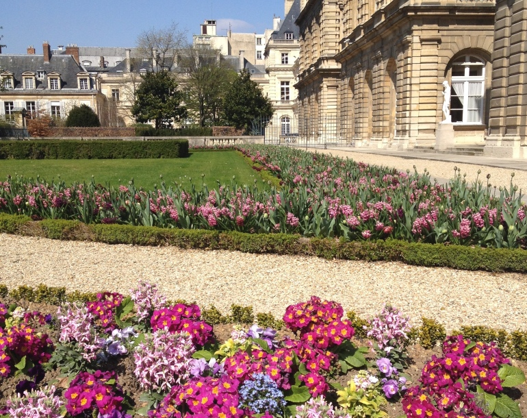 Jardin du Luxembourg flowers 2