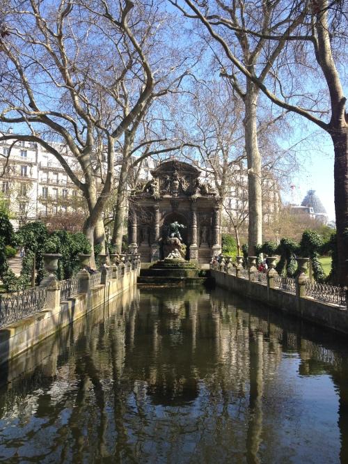 Jardin du Luxembourg Fontaine Medicis