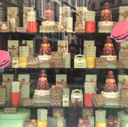 Ladurée Saint Germain window