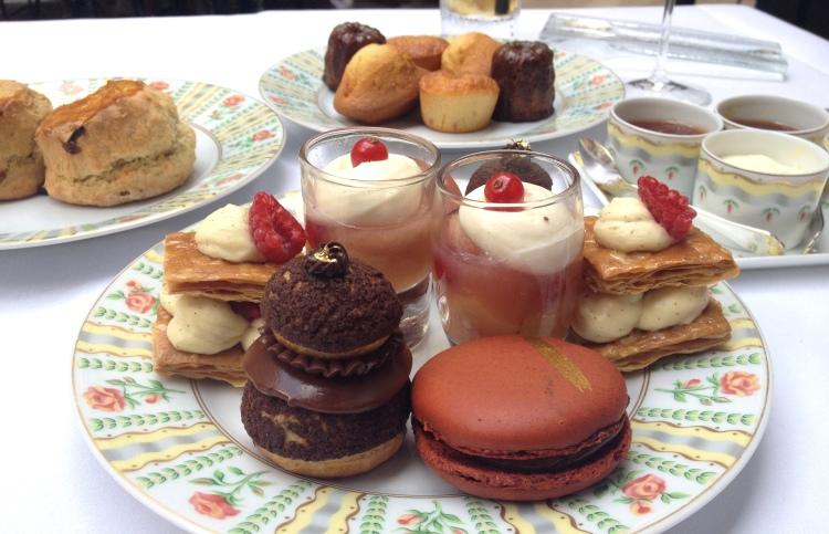 Four Seasons George V Afternoon Tea desserts detail