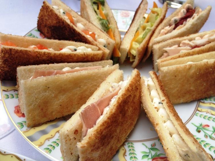 Four Seasons George V Afternoon Tea sandwiches