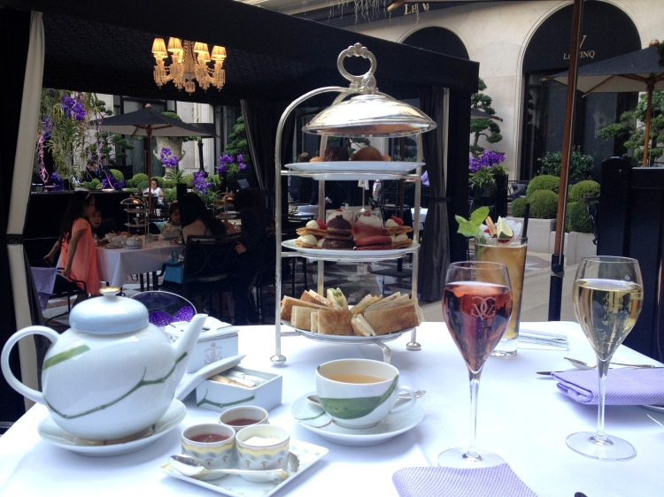 Four Seasons George V Afternoon Tea