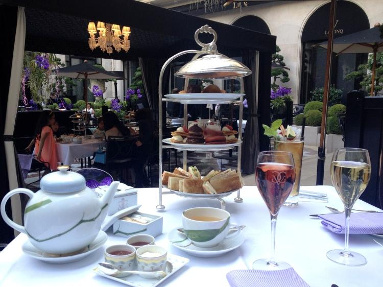 Four Seasons George V Afternoon Tea