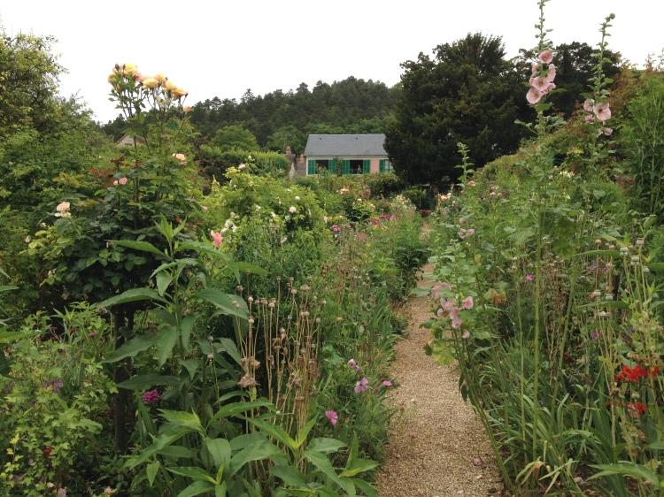 Giverny Claude Monet garden 1