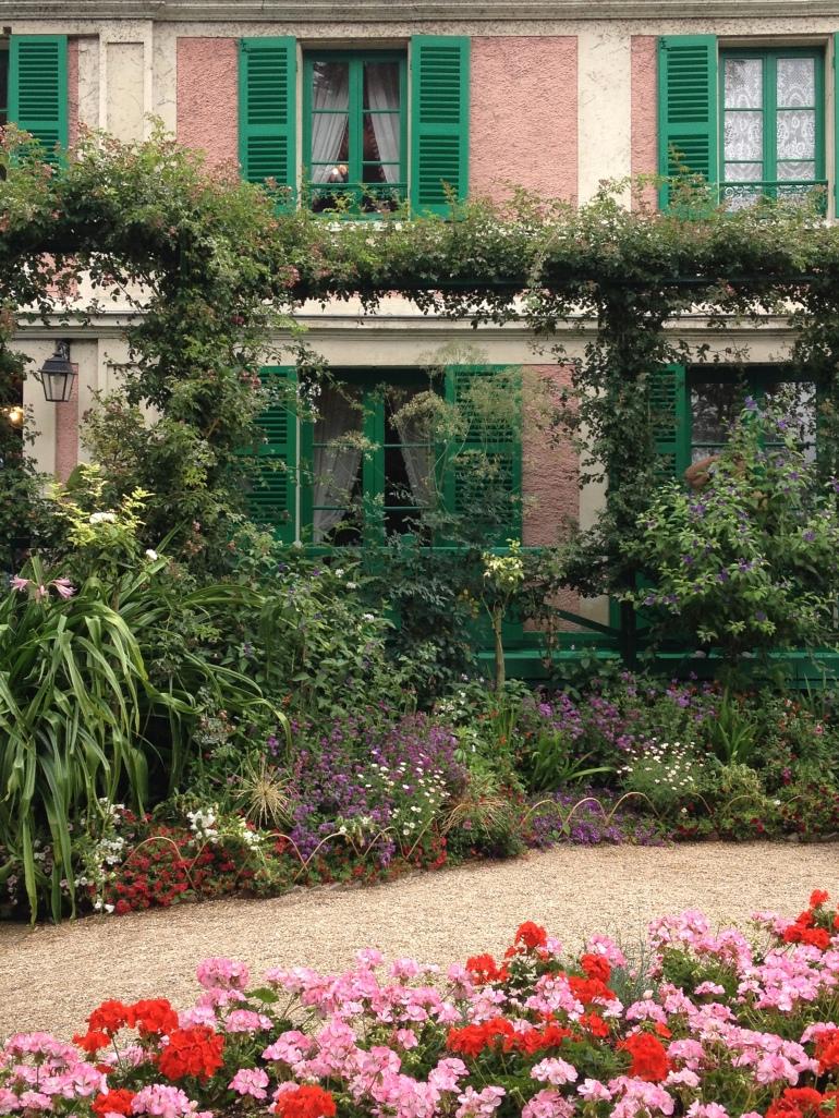 Giverny Claude Monet garden 13 house