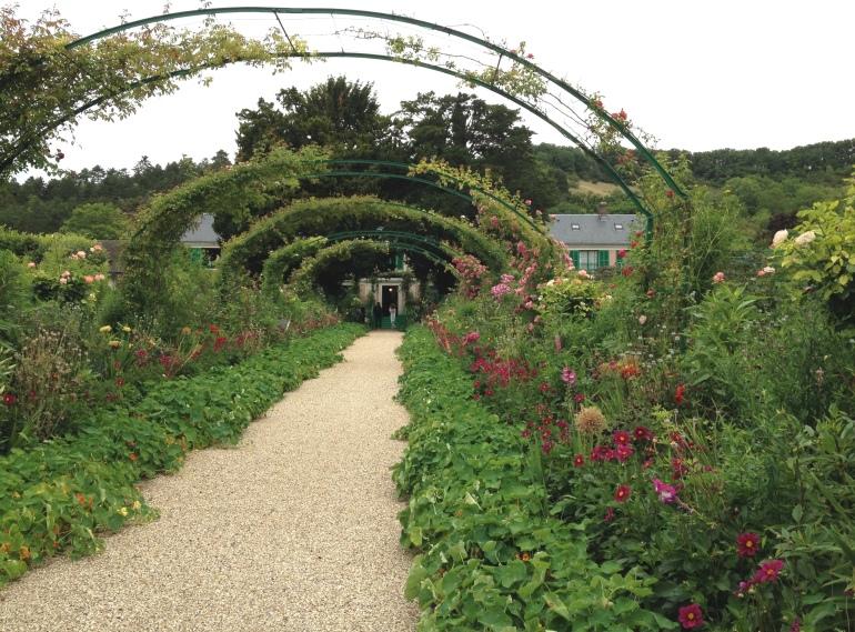 Giverny Claude Monet garden 2 alley