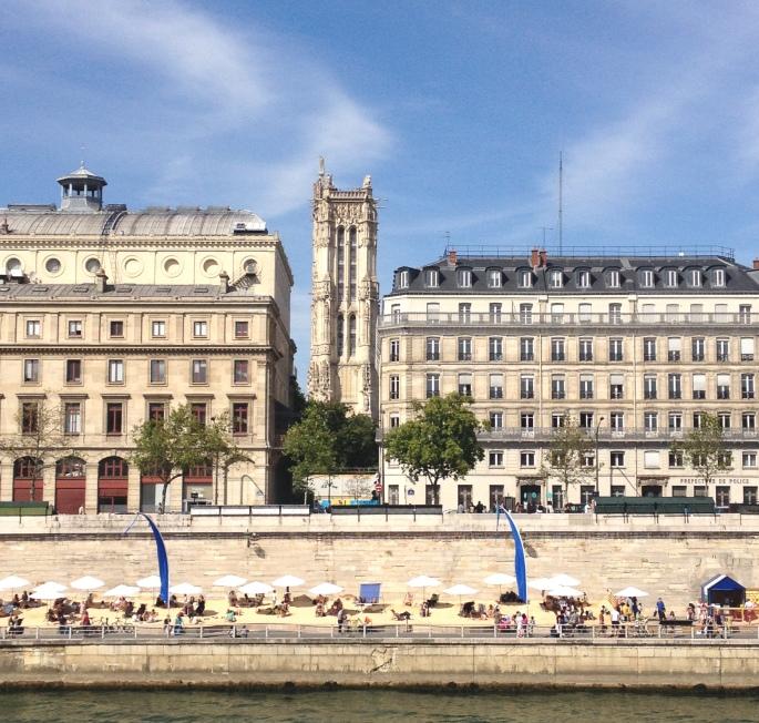 Paris Plages Saint Jacques