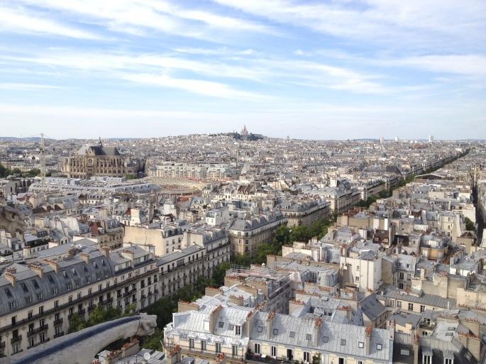 Paris Sebastopol Sacré Coeur Tour Saint Jacques
