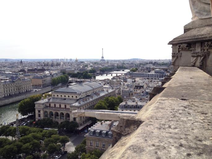 Paris Tour Saint Jacques Eiffel Tower