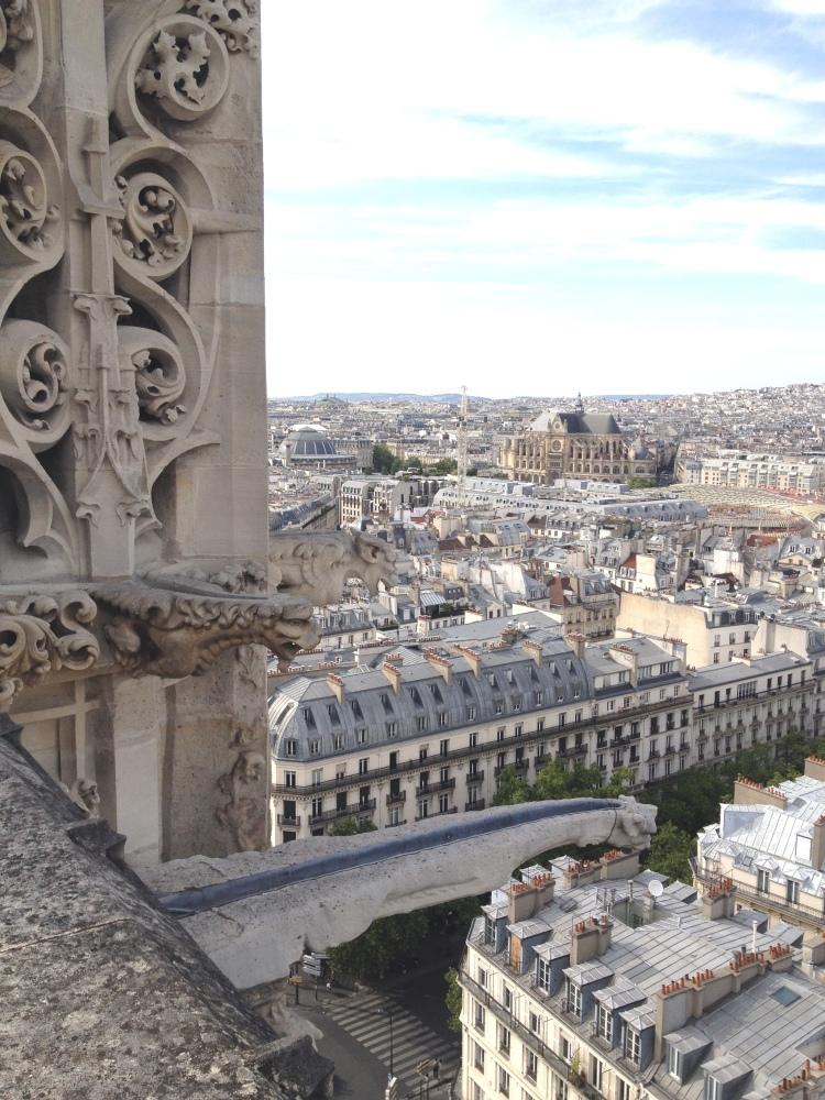 Tour Saint Jacques gargoyles Les Halles
