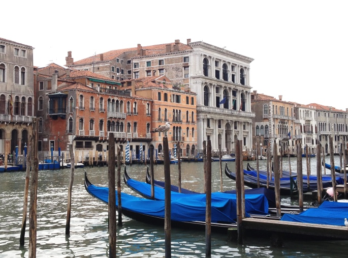Venice gondola Canal Grande