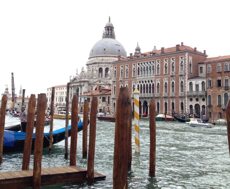 Venice Salute Canal Grande