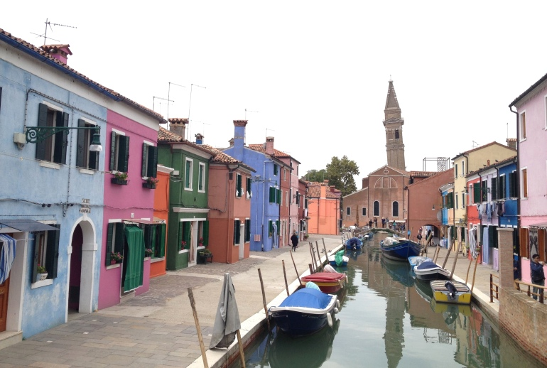 Burano 7 leaning church tower