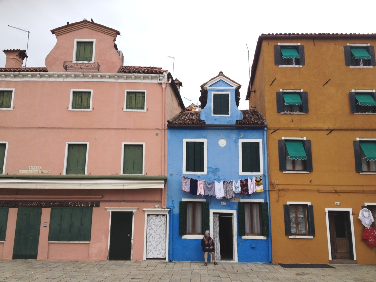 Burano old lady