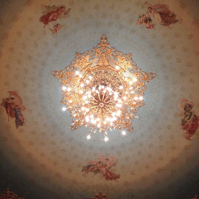 La Fenice ceiling