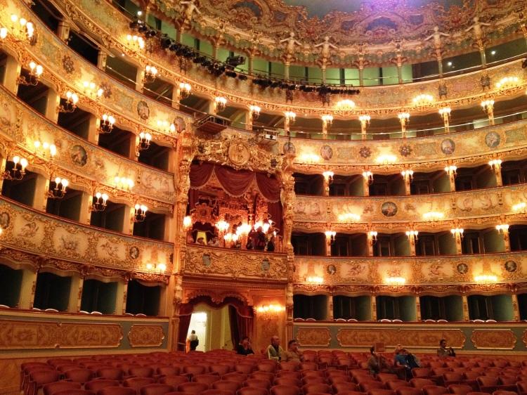 La Fenice Venice room