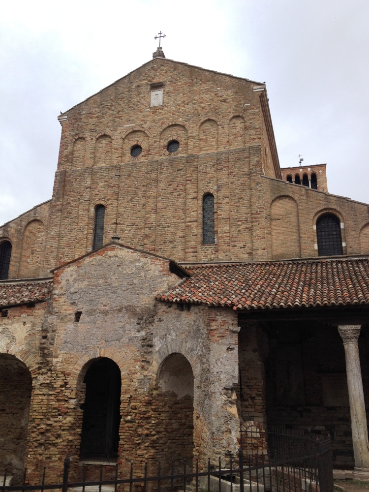 Torcello cathedral exterior