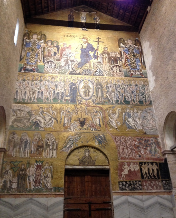 Torcello cathedral mosaic 1