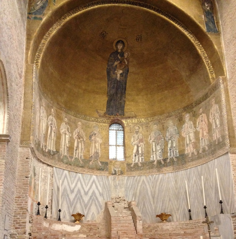 Torcello cathedral mosaic 3
