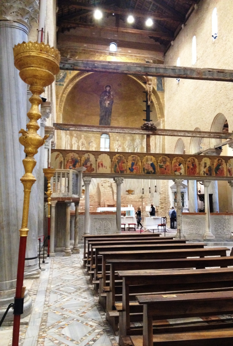 Torcello cathedral mosaic 4