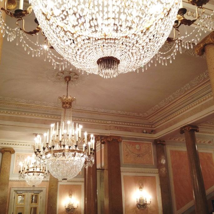 Venice La Fenice lobby