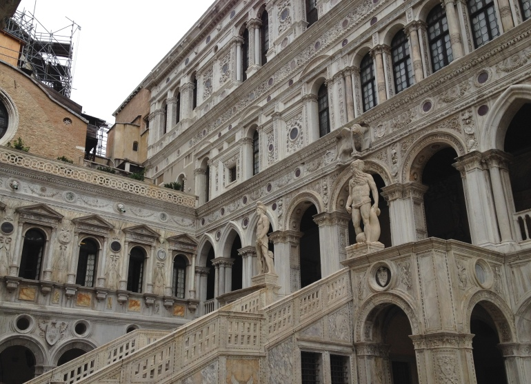 Venice Palazzo Ducale Giants Staircase 1