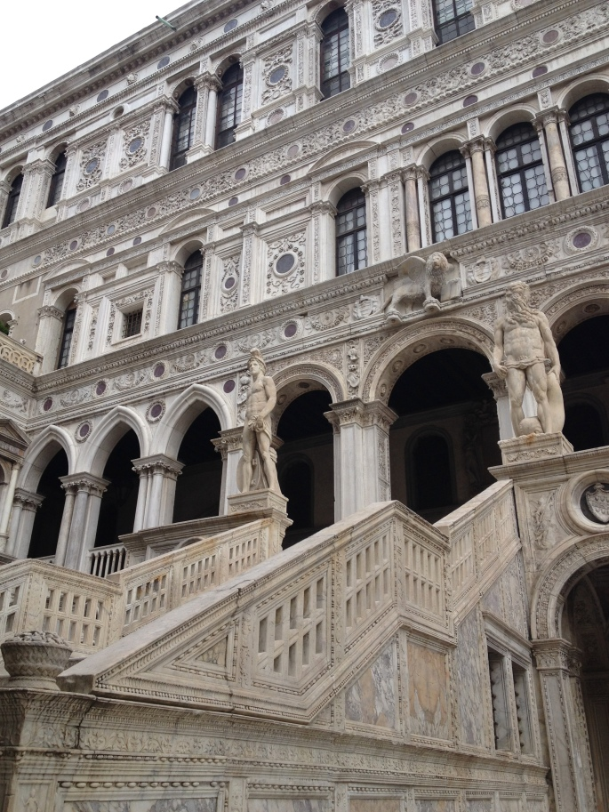 Venice Palazzo Ducale Giants Staircase 2