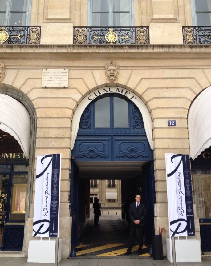 Chaumet entrance