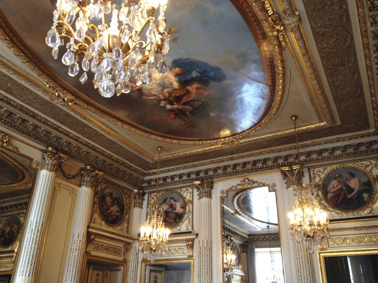 Chaumet salons place Vendôme ceiling