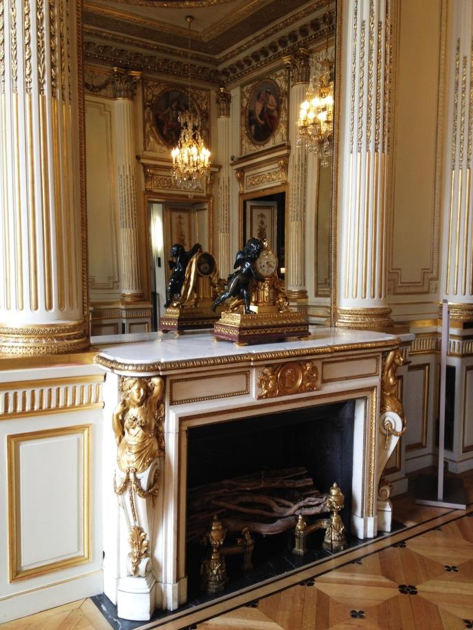 Chaumet salons place Vendôme chimney