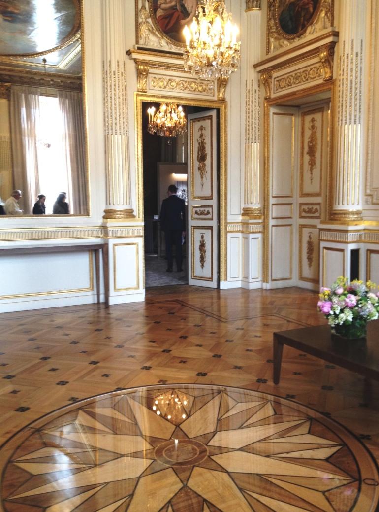 Chaumet salons place Vendôme floor
